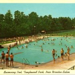 May 28 1955 tanglewood park swimming pool opens winston salem for Kimberley park swimming pool winston salem nc