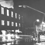 Brown's Warehouse Fire