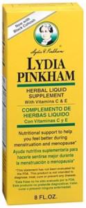 Lydia Pinkham's tonic