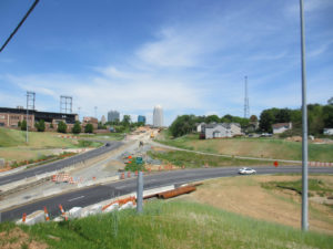 Then and Now: Interstate 40 Construction - Winston-Salem